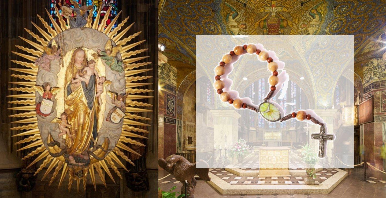 Rosenkranz für Neubelebung des Bistums