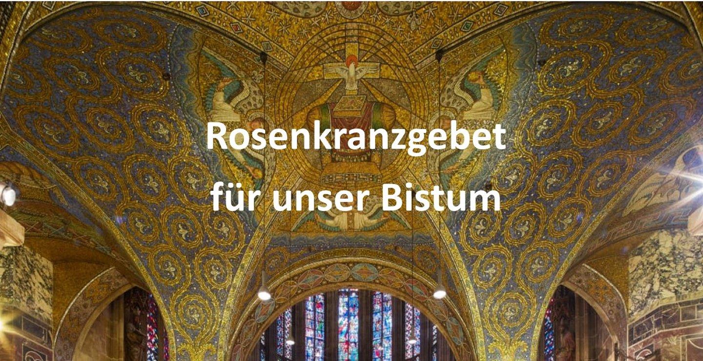 Mit dem Rosenkranz gemeinsam für unser Bistum